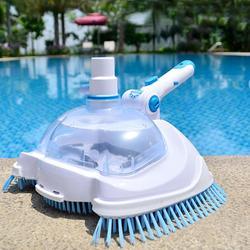Kolam Renang Suction Vacuum Head Brush Cleaner Kolam Renang Fleksibel Manual Cleaner Vacuum Kolam Renang Kepala Cleaning Sikat Pembersih Kolam Renang