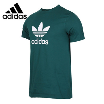 Original New Arrival  Adidas Originals TREFOIL T-SHIRT Men's T-shirts short sleeve Sportswear