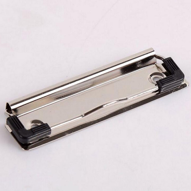 Portable New 10pcs Metal Board Clips Strong Stationery Clip 10cm School Office Document Metal Clip Accessories With Clips