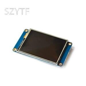 "Image 3 - Nextion 2.4 ""TFT 320x240 저항 막 터치 스크린 Arduino Raspberry NX3224T024 용 USART UART HMI 직렬 LCD 모듈 디스플레이"