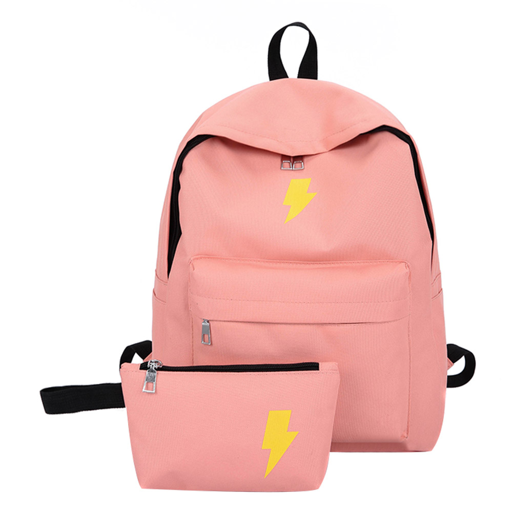 Women Backpack Set Fashion Letters Print Preppy Style School Bag For Teenager Girls Laptop Backpack Mochila Sac A Dos  Mochila