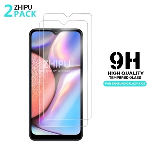 Image 1 - 2 Pcs Tempered Glass For Samsung Galaxy A10S Glass Screen Protector 2.5D 9H Tempered Glass For Samsung A10S Protective Film
