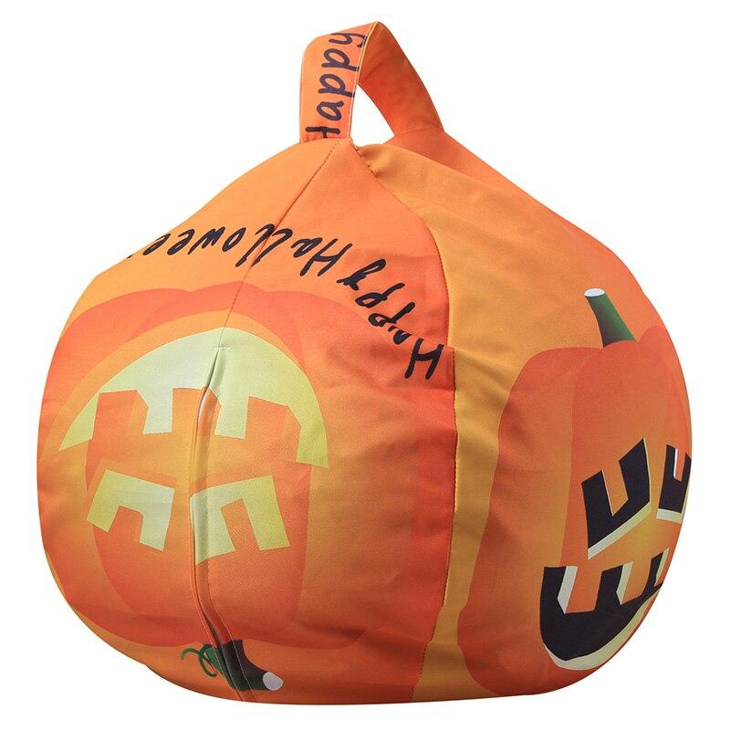 26 inch storage beanbag halloween pumpkin bat shape clothes plush toys orgnizer sofa bag children store toy neaten child bedroom