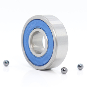 6000 Hybrid Ceramic Bearing 10x26x8 mm ABEC-1 ( 1 PC ) Bicycle Bottom Brackets & Spares 6000RS Si3N4 Ball Bearings