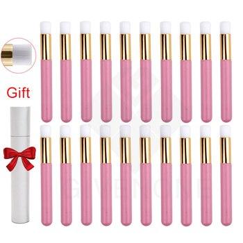 10/20pcs Eyelash Cleaning Brush Nose Brushes Blackhead Clean Lash Shampoo Brushes Lashes Cleanser Eyelashes Extensions Tools 1