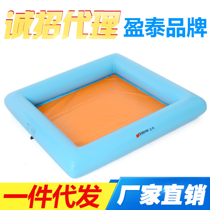 Intime Children Inflatable Play Sandbox Large Outdoor Thick Gap Former Sha Tan Chi Swimming Pool Play Fishing Pool