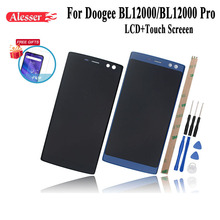 Alesser For Doogee BL12000 BL12000 Pro LCD Display +Touch Screen Assembly Repair Replacement Accessories + Tools +Adhesive +Film