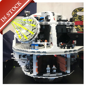 Звездные игрушки Wars Death Star 10188 05035 в наличии строительный блок 3803 шт Кубики Игрушки Подарки UCS 81037 75159 05063