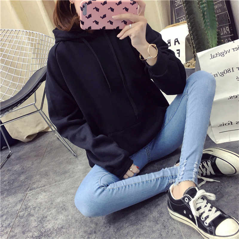H73b133448b344e84a1df8e24b94d78eaA - Autumn winter Harajuku Solid Sweatshirt Women Long Sleeve Hoodie Loose Women Hoodies Sweatshirts Casual Tracksuit