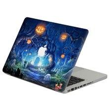 Хэллоуин замок летучая мышь виниловая кожа ПВХ наклейка для