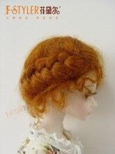 Bjd cheveux 1/3 bjd 1/4 bjd 1/6 bjd mohair poupée perruques mode poupée cheveux