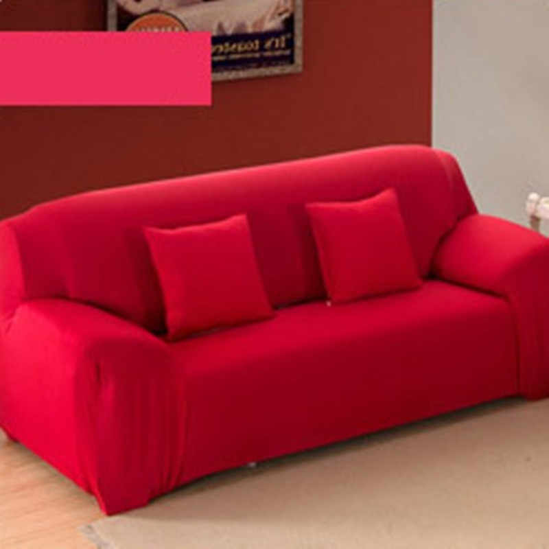 Bankhoes 3 Zits.Simple Sofa Cover Voor Woonkamer Elasticiteit Antislip Bank Hoes