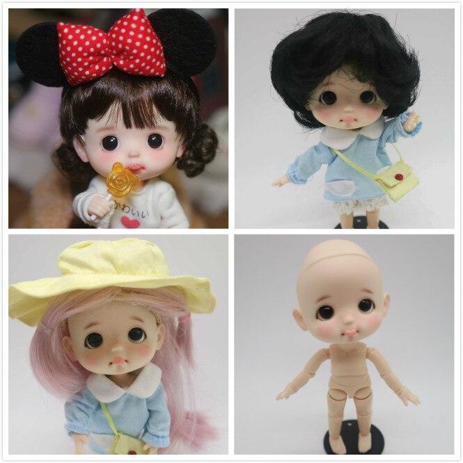 ANN OB11 Handmade ตุ๊กตาการปรับแต่ง 1/8 BJD ตุ๊กตา OB ตุ๊กตา-ใน ตุ๊กตา จาก ของเล่นและงานอดิเรก บน   1