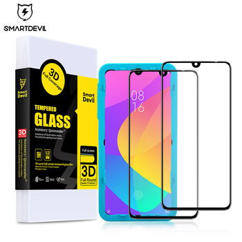 SmartDevil for xiaomi mi cc 9e cc9 pro screen protector cc9e pro tempered glass phone protective film Full coverage smartphone