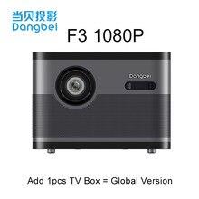 Dangbei F3 DLP projektör Full HD cep telefonu projeksiyon akıllı 1080p projektör WiFi ev sineması 1080p desteği 4K TV Beamer