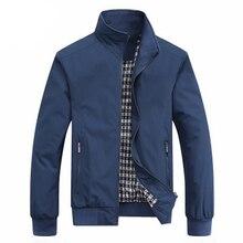 New 2019 Jacket Men Fashion Casual Loose Mens Jacket Sportswear Bomber