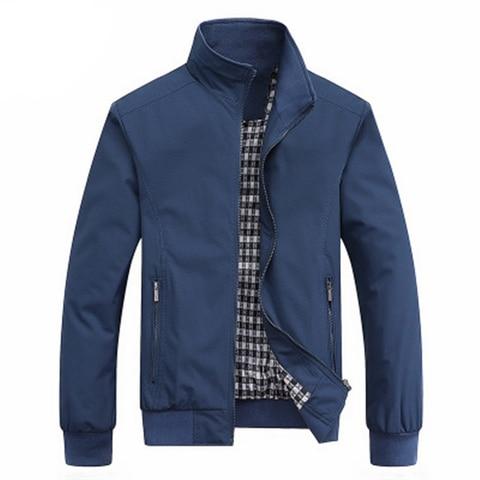 New 2019 Jacket Men Fashion Casual Loose Mens Jacket Sportswear Bomber Jacket Mens jackets and Coats Plus Size M- 5XL Pakistan