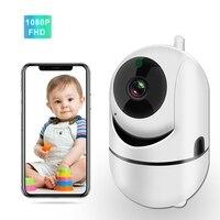 Wifi Baby Monitor con telecamera 1080P Baby Sleeping Video Monitor per tata visione notturna Audio bidirezionale telecamera di sorveglianza di sicurezza domestica