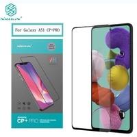 Para Samsung A51 de vidrio templado Nillkin CP + PRO Anti-burst 9H 0 3 MM 2.5D la cobertura completa Protector de pantalla para Galaxy A51 película