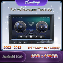 Car-Radio Multimedia-Player Gps Navigation Android-10.0 Volkswagen Touareg Stereo Kaudiony