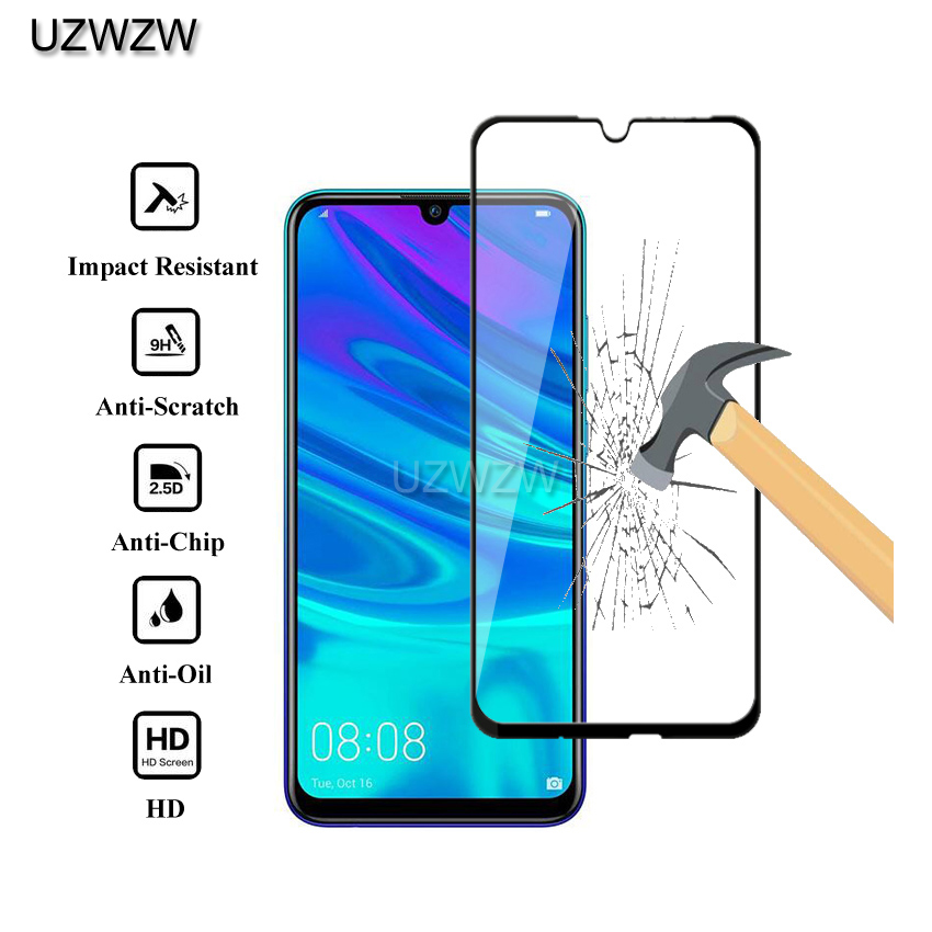 2pcs Full Cover Tempered Glass For Huawei P Smart 2019 (6.21 Inches) Tempered Glass Screen Protector For Huawei P Smart 2019