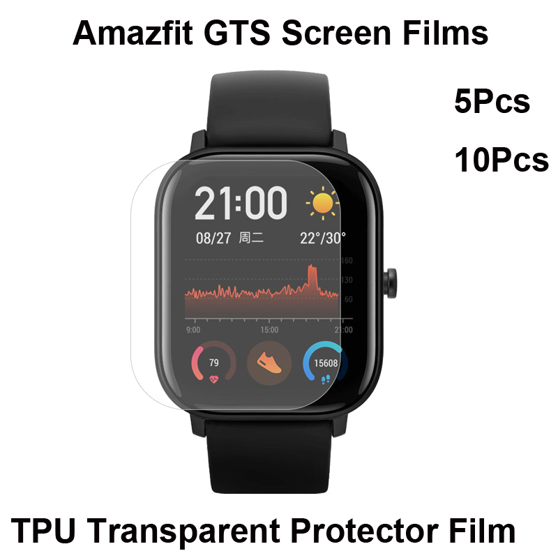 For Xiaomi Huami Amazfit GTS Film Screen Protector Bracelet Protectors Pantalla Smartwatch Protective Film