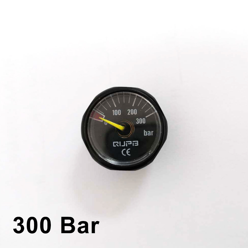 M10x1 300Bar PCP Airgun Paintball 25mm Mini High Pressure Gauge Manometer