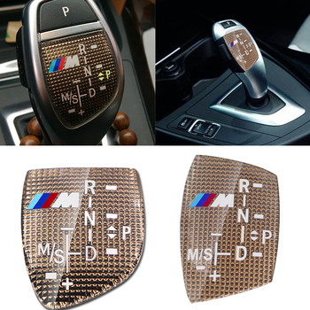 1pcs M performance Car Gear Shift Knob Sticker Cover For bmw M Sticker X1 X3 X4 X5 X6 X7 e46 e90 f20 e60 e39 f10 Car accessories etie car styling sports mind produced by m performance power sticker