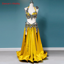 New Belly Dance Wear Competition Outfits Customized Applique