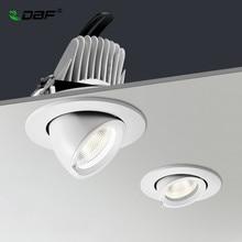 LED Downlight dimmbare 7W 10W 15W 20W einstellbar 360 Grad Einbau LED Decke Spot Licht AC110V 220V Stamm downlight LED