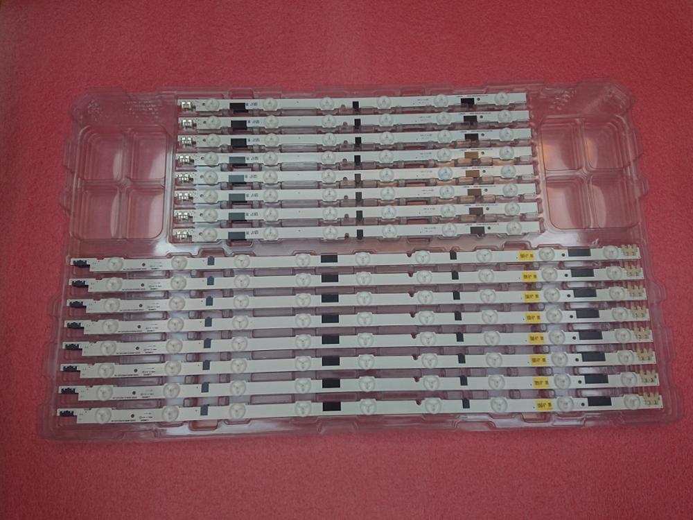 Strip para Samsung Novo Original Led Backlight tv Ue46f6510sb Ue46f6400aw Bn96-25308a Bn96-25309a Kit 16 Pçs