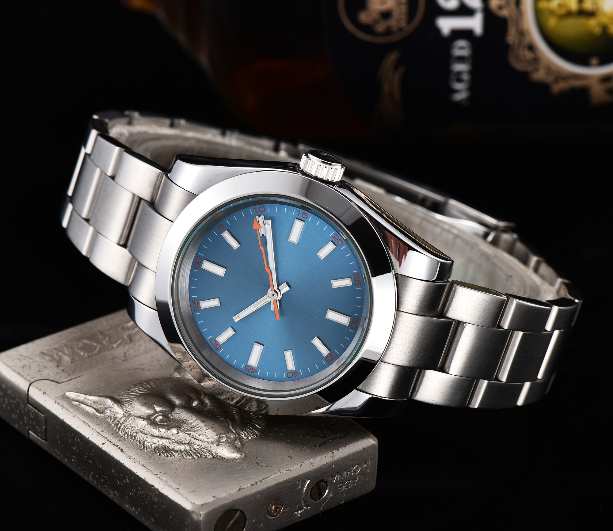 automatic mechanical watch watch men Luminous waterproof 316L Solid stainless steel 40MM LLS888z