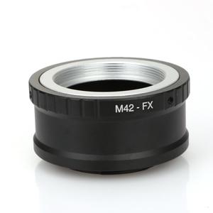 Image 4 - M42 FX 고정밀 전송 링 M42 트랜스퍼 X 마운트 후지 X Pro1 X M1 X E1 X E2 어댑터 단일 전기