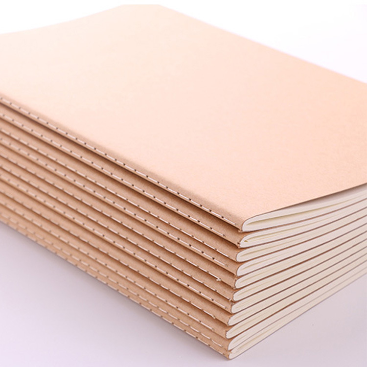 Kraft Paper Notebook A4 Car Line Book Custom A5 Student Notebook Diary A4 Notebook School Student Stationery For Office Painting
