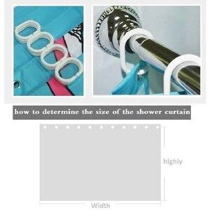 Image 5 - Löwenzahn Druck Wasserdicht Dusch Vorhang Polyester Gewebe Bad Vorhang Hause Bad Vorhänge mit 12 Haken Dusche Vorhänge