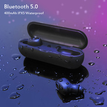 Hot Sell Wireless Bluetooth Headphones True 5.0 Earphone Twins Stereo In-Ear TWS With Mic Portable Battery Storage Box