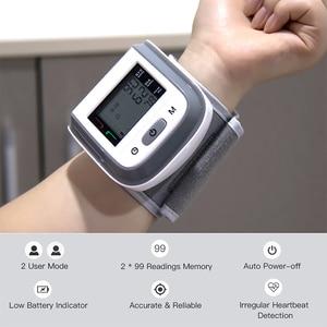Image 3 - BGMMED Medical Fingertip Pulse Oximeter & LCD Wrist Blood Pressure Family Health Care Travel Packages