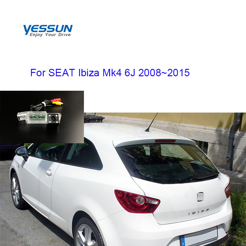 Yessun Rear View Camera For SEAT Ibiza Mk4 6J 2008 2009 2010 2011 2012 2013 2014 2015 CCD Backup Camera/car License Plate Camera
