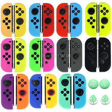Silicone Rubber Skin Case Cover For Nintend Switch JoyCon Controller For Nintendoswitch NX NS Joycon Grip