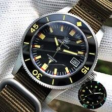 STEELDIVE – montre mécanique pour hommes, étanche, automatique, de luxe, saphir, cristal, NH35, 300m, pour plongée