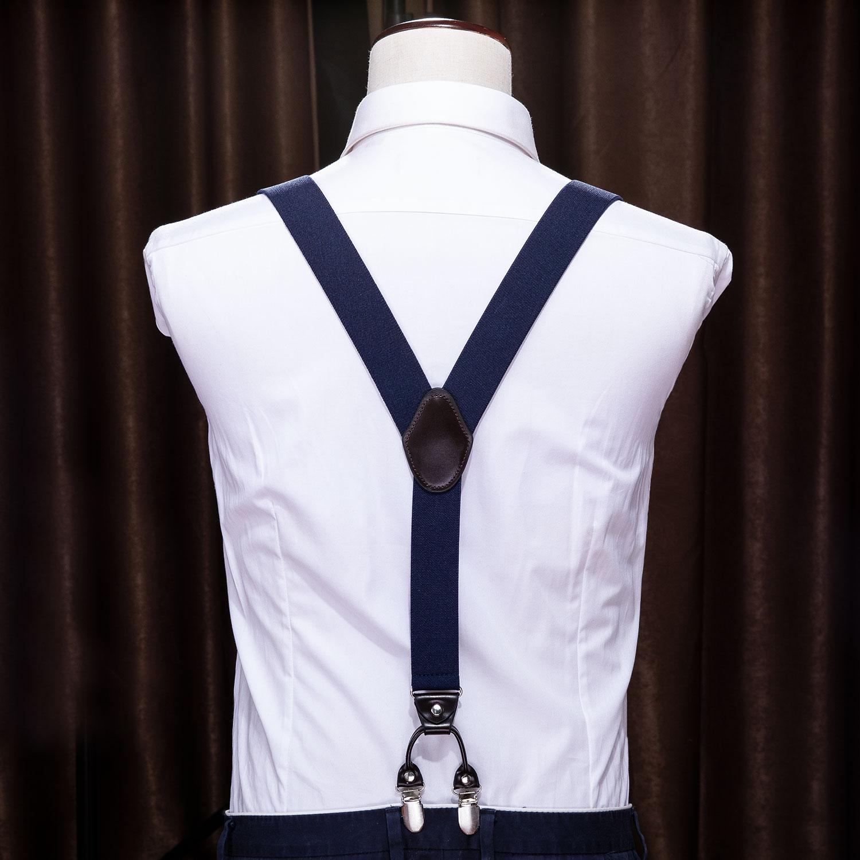 Men Shirt Stay Belt Suspenders Locking Clip Braces Thigh Garter Strap Cloth LH