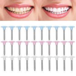 10pcs Dental Polishing Burs Low Speed Dental Grinding Polisher Burs Drill Bits Set Teeth Whitening Tool Oral Care Dentist Supply
