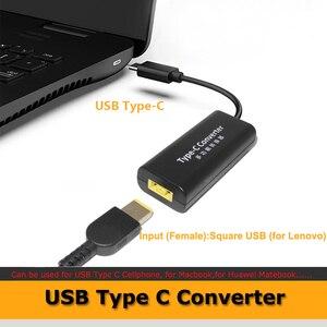 Image 3 - แล็ปท็อปช่องเสียบสายไฟ DC ADAPTER ADAPTER Charger สำหรับ Lenovo HP Asus 7.4*5.0 7.9*5.5 มม.หญิง USB Type C อะแดปเตอร์ชาย