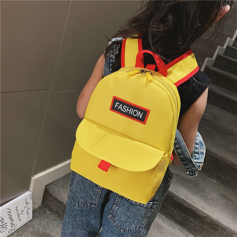 Children Anti Lost Backpack 2019 Summer New Style Children Casual Burden Relieving Backpack Baby Versitile Fashion Bag