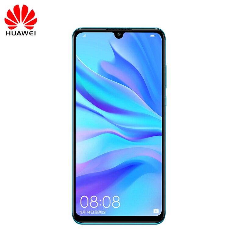 Versão global original huawei p30 lite nova 4e 4g smartphone 4g 128g 6.15 polegada android 9.0 kirin 710 octa núcleo 24mp celular