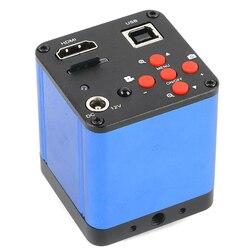 1080P 38MP HDMI USB elektroniczny cyfrowy mikroskop z aparatem 4G TF Card Recorder IR pilot Repair Tool dla telefonu/naprawa pcb w Mikroskopy od Narzędzia na