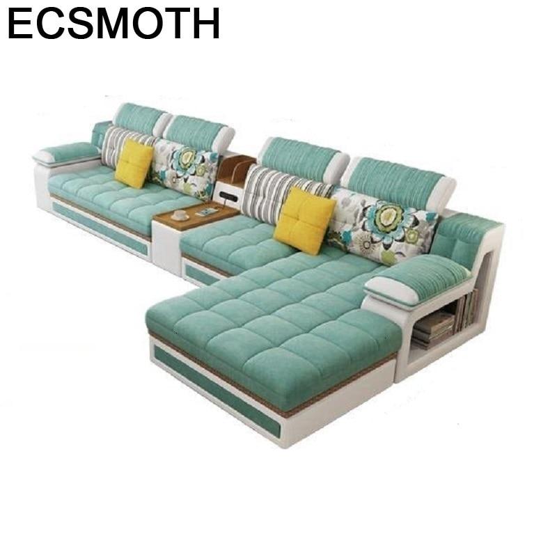 Maison Sectional Para Oturma Grubu Mobilya Sillon Meble Copridivano Puff Asiento Set Living Room Furniture Mueble De Sala Sofa