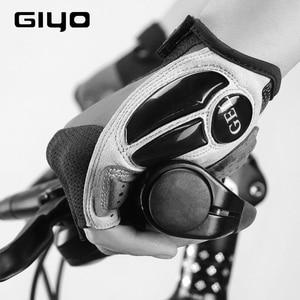 Image 4 - GIYO אופניים כפפות חצי אצבע כפפות חיצוני גברים נשים נוסף ג ל כרית לנשימה MTB מרוצי כביש רכיבה רכיבה על אופניים כפפות DH