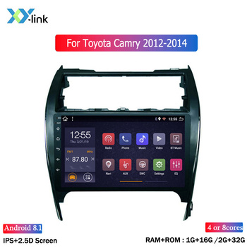 Car Radio GPS Navigation system android for Toyota camry 2012-2014 US Version video multimedia dvd player usb mp3 no 2din dvr pc liislee for toyota 4runner hilux tundra tacoma t100 car radio cd dvd player gps nav navi navigation android s160 system