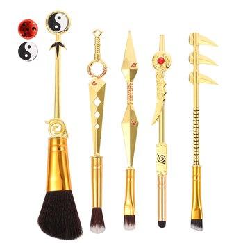 Classic Anime Naruto Cosplay Makeup Brushes Set Design Synthetic Hair Brushes Set Blush Eyeshaow Eyebrow Highlighter Brush 1